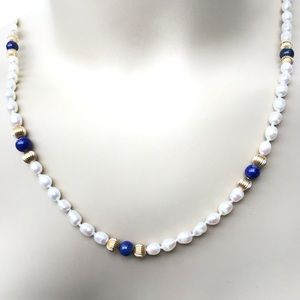 """❣️HP❣️Creations Authentic Pearl Necklace NWT 25"""""""